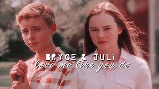 Download ► Bryce + Juli | Love me like you do Video