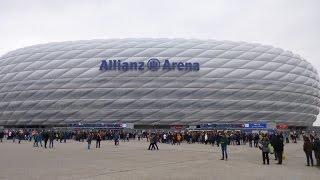 Download Bayern - Allianz Arena - Entrada e saída do estádio, preço do ingresso e canto da torcida! Video