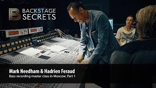 Download Mark Needham's bass recording master class in Moscow (Part 1) Video