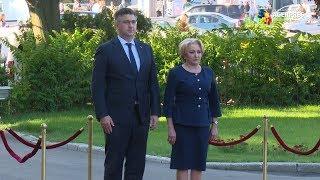 Download Premierul Croației, Andrej Plenkovic, a fost primit cu onoruri militare la Palatul Victoria Video