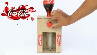 Download How to Make Coca Cola Fountain Machine From Cardboard at Home Video