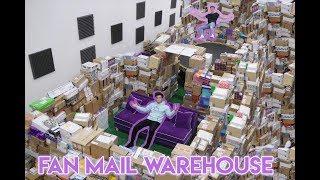 Download HUGE FAN MAIL WAREHOUSE (Opening Fan Mail) Video