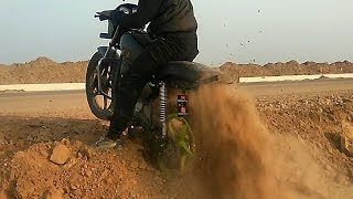 Download A little offroading on my splendor !! dirt bike | e bike | stunt bike | sport bike | bike rack Video