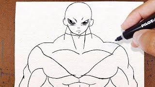 Download COMO DESENHAR o JIREN DRAGON BALL SUPER Video