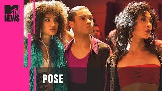 Download 'Pose' Stars on Janet Mock & the Importance of Character Representation | MTV News Video