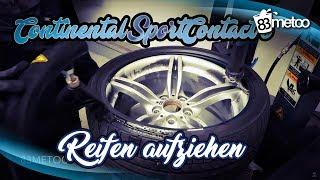 Download Continental SportContact 6 Reifen Aufziehen   Reifenmontage bei King Performance Düsseldorf Video