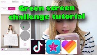 Download Green screen challenge tutorial Video