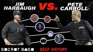 Download The Jim Harbaugh-Pete Carroll beef spans the Pac-10, NFC West, and parking lots Video