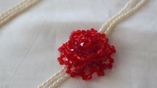 Download Rose Flower Beading Lesson/ Video Video