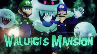 Download [SFM Luigi's Mansion 3] Waluigi's Mansion Video