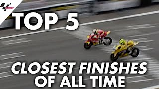Download Top 5 closest finishes in MotoGP™️! Video
