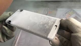 Download lcd glass freezing machine for iphone samsung edge and tablet Video