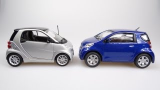 Download The Smart Fortwo vs the Toyota IQ (2012 Video) Video