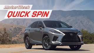 Download 2020 Lexus RX   Quick Spin Video