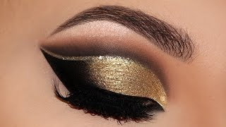 Download ⭐ Cut Crease Glam New Years 2016 | Party Makeup Tutorial | Melissa Samways ⭐ Video