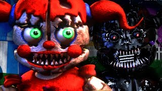 Download THE NIGHTMARE FUNTIME ANIMATRONICS RETURN.. IN A NEW LOCATION | Baby's Nightmare Circus Bike Fighter Video