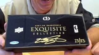 Download 2007-08 Exquisite Basketball Box 2 Break - SUPER LEBRON 23/23 MOJO Video