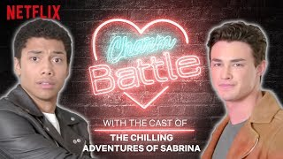 Download Chilling Adventures of Sabrina Cast Show You How To Flirt | Charm Battle | Netflix Video