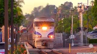 Download HD HIGH SPEED!!! Amtrak Trains in Encinitas, CA (November 9th, 2013) + 3 BONUS SHOTS !!! Video