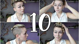 Download 10 způsobů, co s krátkými vlasy Video