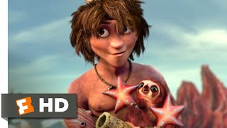 Download The Croods (2013) - Try This On For Size Scene (6/10) | Movieclips Video