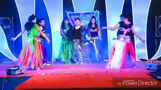 Download ABEEBA dance academy performance with actress SEMBA (manasa) in starnight show Video