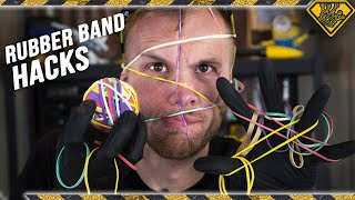 Download Viral Rubber Band Life Hacks TESTED Video