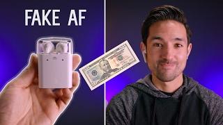 Download $50 AirPod Clones vs $160 Apple AirPods! Video