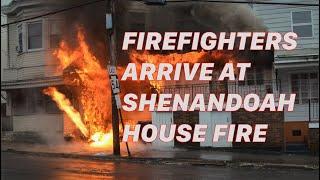 Download PRE-ARRIVAL: 2nd Alarm House Fire - Shenandoah, PA - 01/18/2017 Video
