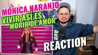 Download Mónica Naranjo - Vivir Así Es Morir De Amor | Gala 60 Años TVE | REACTION Video