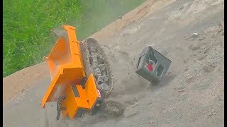 Download GIGANTIC RC CRASH! HUGE RC ACCIDENT ON THE CONSTRUCTION SITE! EQUIPMENT FILE! SPECIAL LIVE ACTION Video