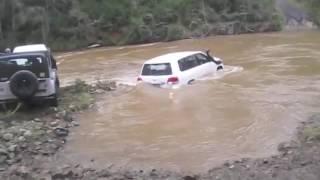 Download BIG RED 4X4 River crossings Video
