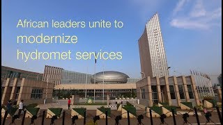 Download African Leaders Unite to Modernize Hydro-Meteorological Services Video
