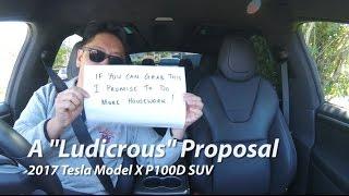 Download ″Ludicrous Mode″ in the 2017 Tesla Model X P100D SUV | BRRRRM Australia Video