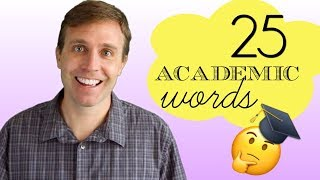 Download 25 Academic English Words You Should Know | Great for University, IELTS, and TOEFL Video