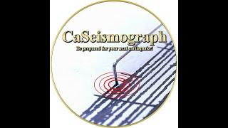 Download CaSeismograph Live Earthquake Stream Video
