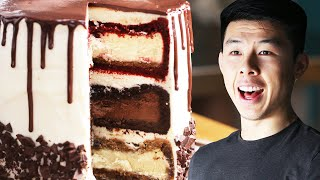 Download The Ultimate Triple-Decker Cheesecake Tower: Behind Tasty Video