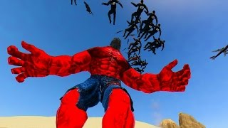 Download RED HULK VS SPECIAL FORCES POLICE - DESERT DISASTER MAP Video