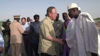Download Jim Yong Kim and Ban Ki-moon Visit Africa's Sahel Region Video