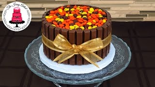 Download Kit Kat Cake with Reese's Pieces - How To With The Icing Artist Video