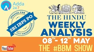 Download SBI PO MAINS | The Hindu Weekly Review 8th May - 12thMay#BBM | Online Coaching for SBI IBPS Bank PO Video