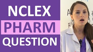 Download NCLEX Pharmacology Review Question on Medication Beta Blockers | Weekly NCLEX Series Video