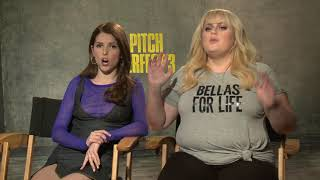 Download Pitch Perfect 3 Anna Kendrick & Rebel Wilson Interview Video