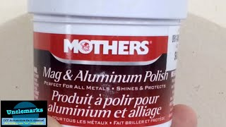 Download can using mothers aluminum mag polish restore my headlights back to near new Video