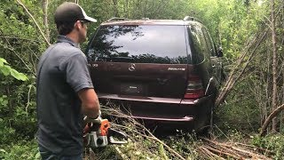 Download I Needed a Chainsaw to Extract My Stolen Mercedes ML55 AMG Video