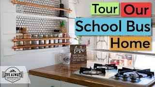 Download Tour Our Skoolie | A Complete Walk Through Tour Of Our Converted School Bus Video