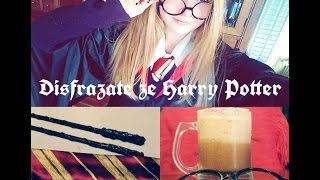 Download Disfraz de Harry Potter ( varita mágica, cerveza de mantequilla...) ♦♦ Ana Weasley Video