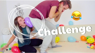Download PLATZ DEN BALLON - Challenge 😂 | BibisBeautyPalace Video