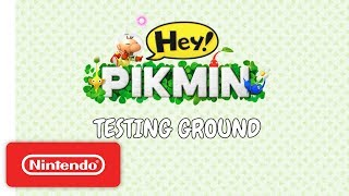 Download Hey! PIKMIN: Testing Ground - Nintendo 3DS Video