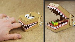 Download DIY Simple Rat Trap from Cardboard Video